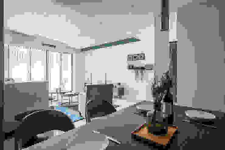 湛藍 | 挹注一室的靜謐 根據 台灣柏林室內設計 北歐風