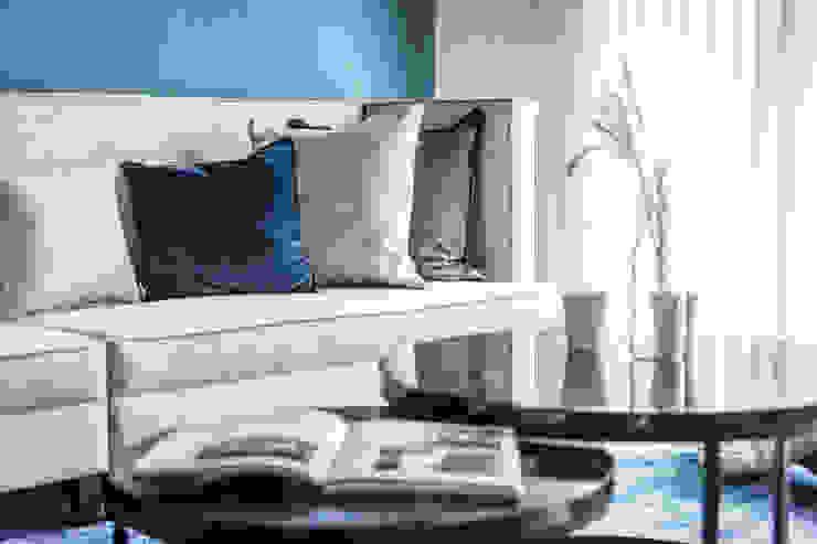 客廳佈置: 斯堪的納維亞  by 台灣柏林室內設計, 北歐風