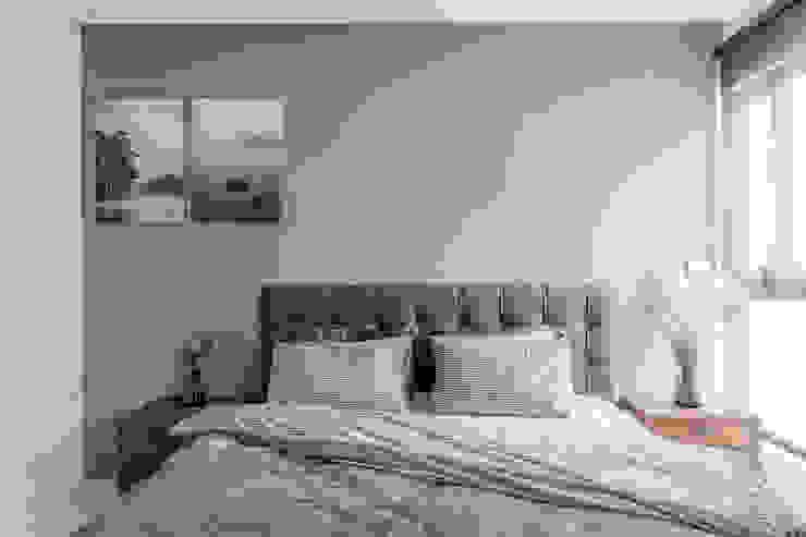 臥室 根據 台灣柏林室內設計 北歐風