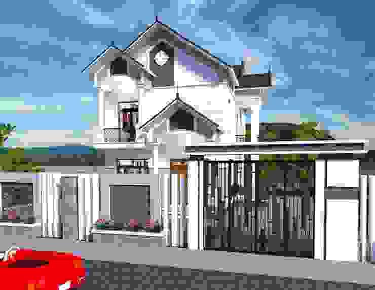 Mẫu nhà hai tầng mái thái bởi Thiết kế nhà đẹp ở Hồ Chí Minh