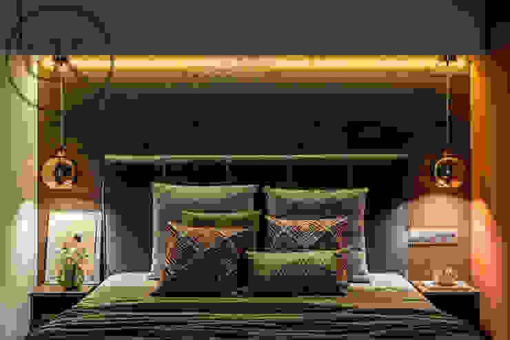 DK Capsule Design 臥室床與床頭櫃