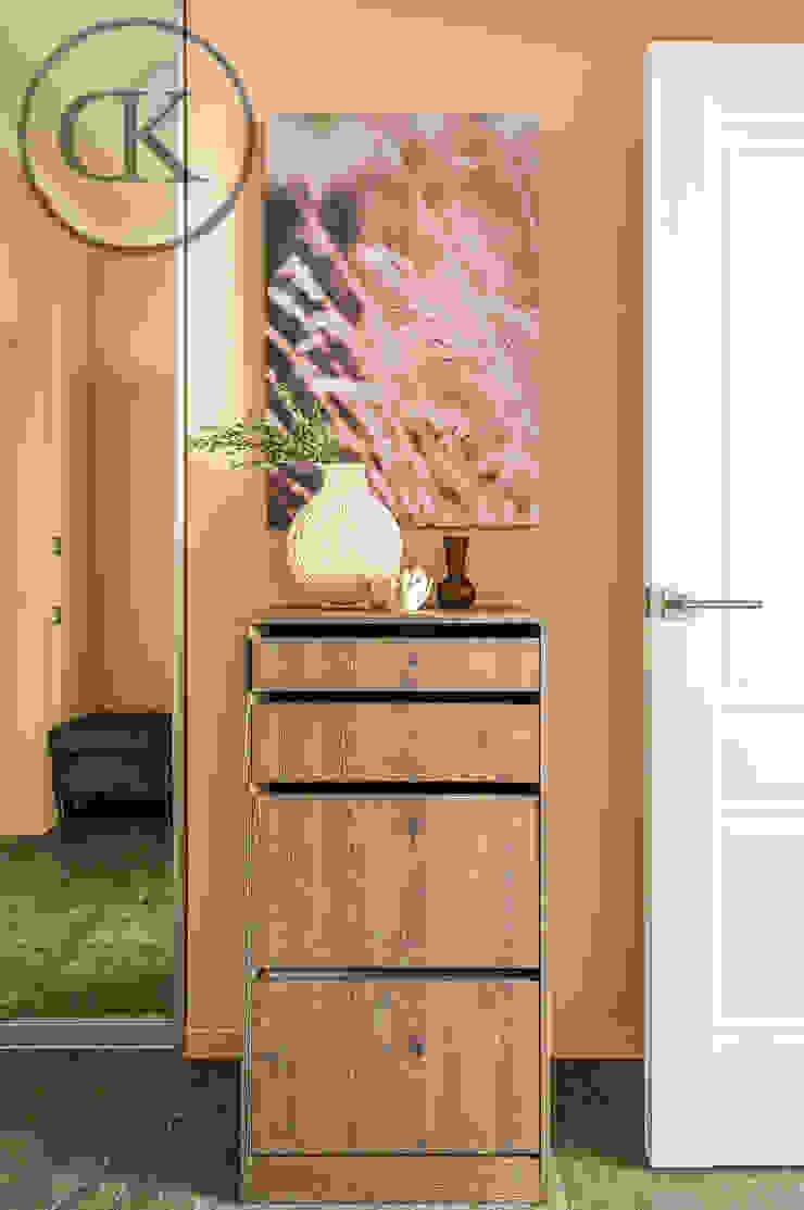 DK Capsule Design 玄關、走廊與階梯櫥櫃與書櫃