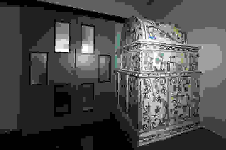 Stufe a olle antiche in maiolica di StufArte