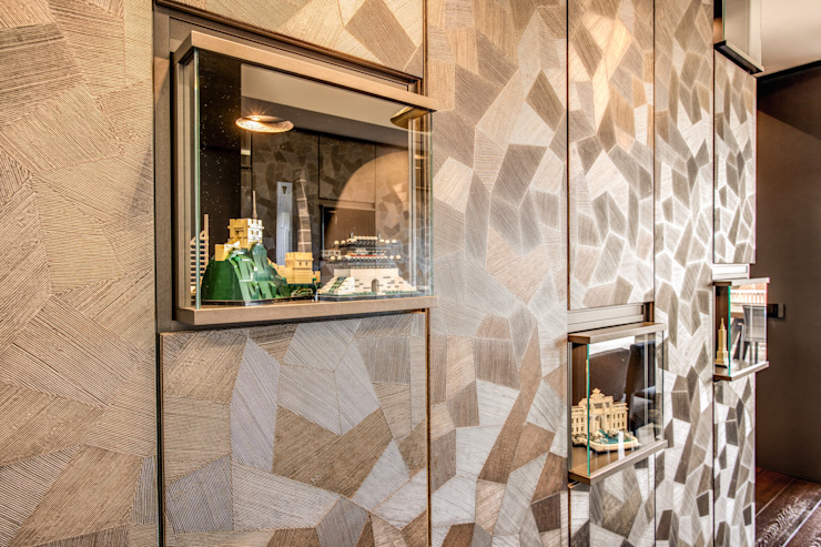 CORTINA D'AMPEZZO Sala da pranzo moderna di MOB ARCHITECTS Moderno