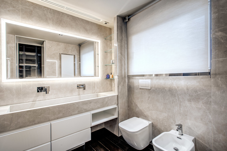 Modern Banyo MOB ARCHITECTS Modern