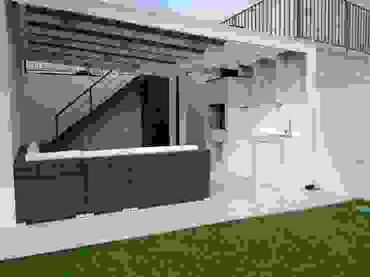 Terraza Valle Lo Campino Balcones y terrazas mediterráneos de Triptico Diseño y Construcción Mediterráneo