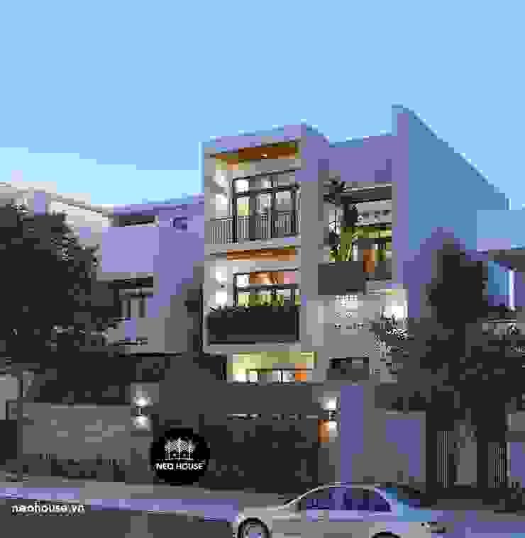 Mẫu biệt thự đẹp 3 tầng theo phong cách hiện đại 2019 bởi NEOHouse