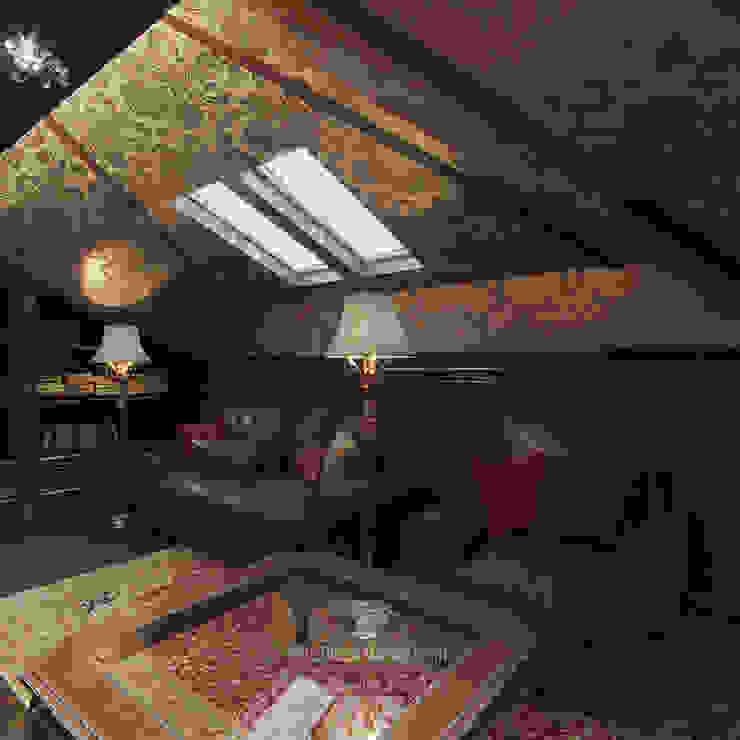 Oficinas de estilo clásico de Студия дизайна интерьера Руслана и Марии Грин Clásico