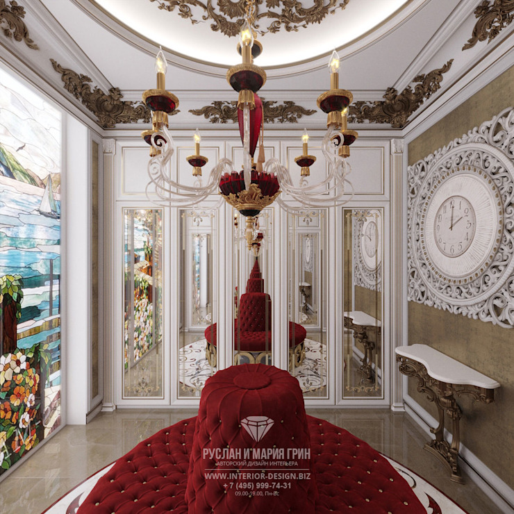 Closets de estilo clásico de Студия дизайна интерьера Руслана и Марии Грин Clásico