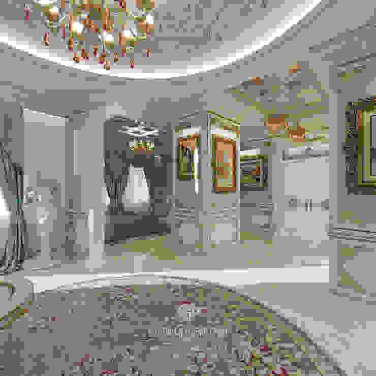 Pasillos, vestíbulos y escaleras de estilo clásico de Студия дизайна интерьера Руслана и Марии Грин Clásico