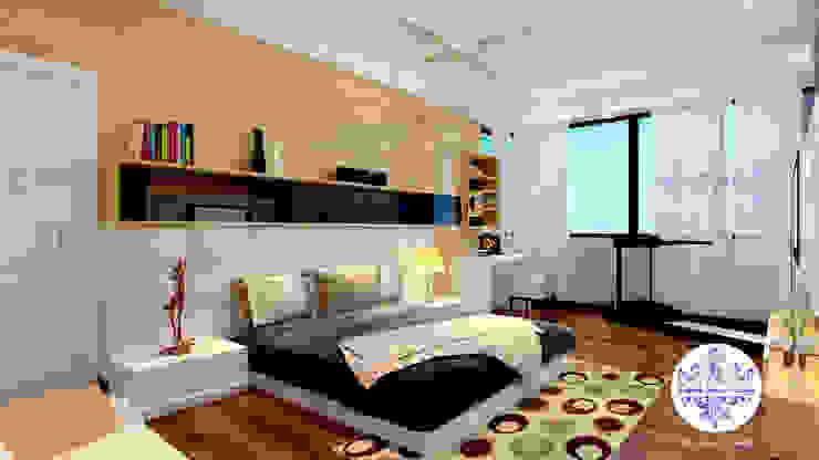 Minimalist Master Bedroom By Futomic by Futomic Design Services Pvt. Ltd. Minimalist MDF