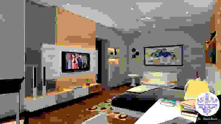 Minimalist Master Bedroom By Futomic by Futomic Design Services Pvt. Ltd. Minimalist Wood Wood effect