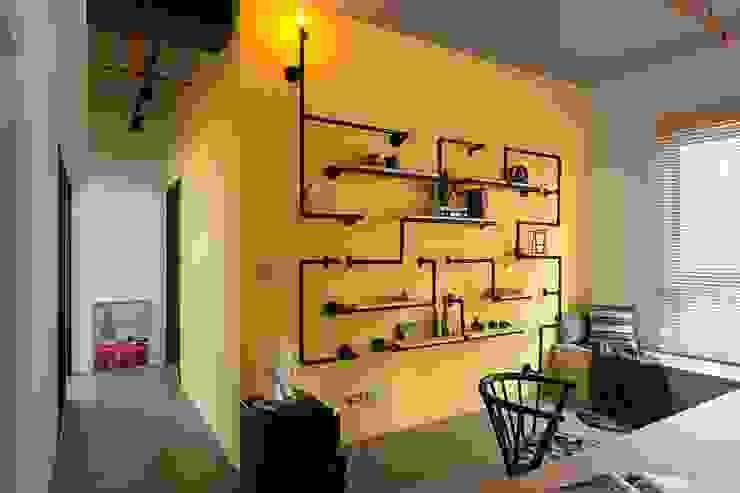 親子宅工業風 根據 于人空間設計 工業風