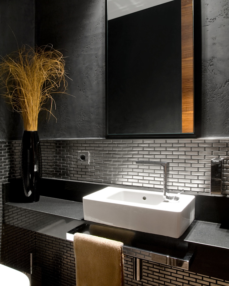 MANUEL TORRES DESIGN Eclectic style bathrooms