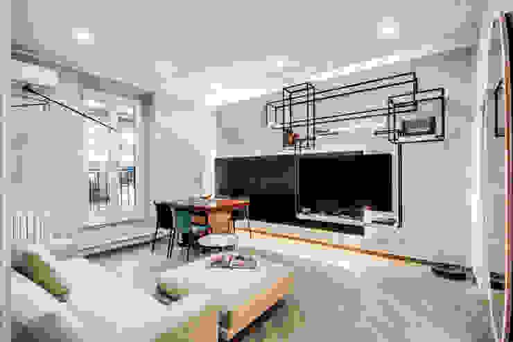 Livings de estilo moderno de MOB ARCHITECTS Moderno