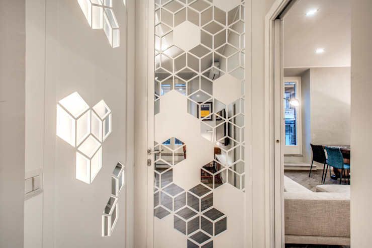 SARDEGNA Ingresso, Corridoio & Scale in stile moderno di MOB ARCHITECTS Moderno