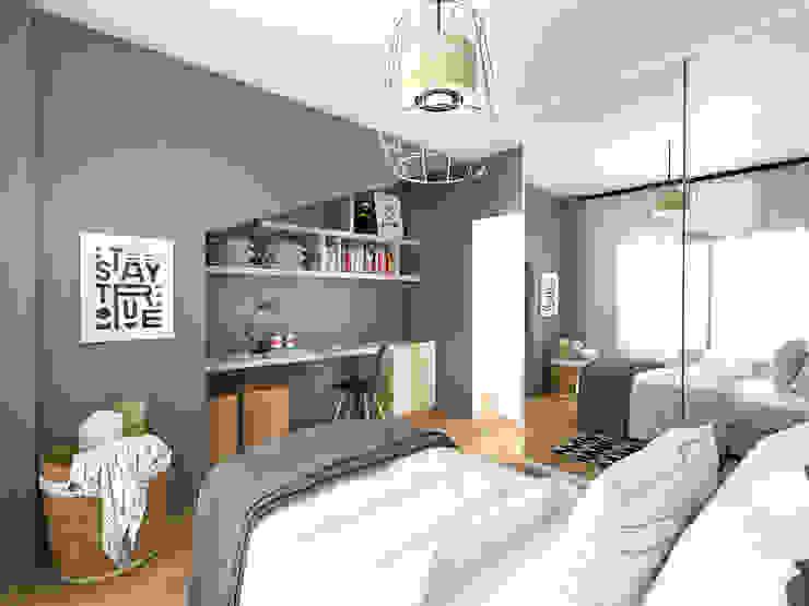 Rustic style bedroom by Bhavana Rustic