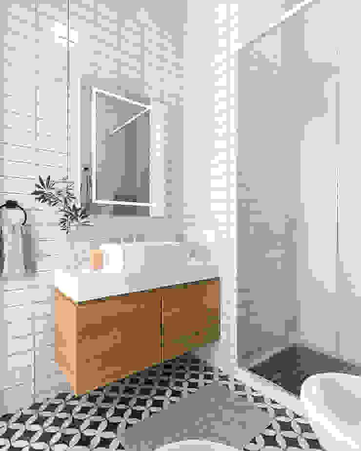 Rustic style bathroom by Bhavana Rustic