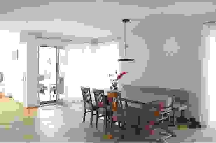 Essbereich Moderne Esszimmer von archipur Architekten aus Wien Modern Holz Holznachbildung