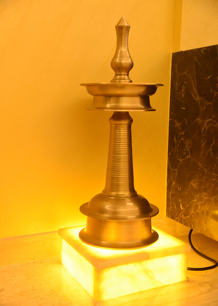 onxy lamp shade stands Ornate Projects Balcony Copper/Bronze/Brass Yellow