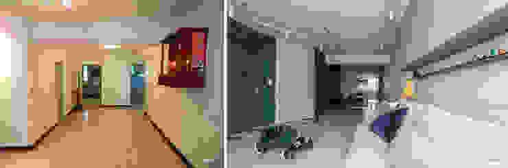 Before / After: 現代  by 湜湜空間設計, 現代風