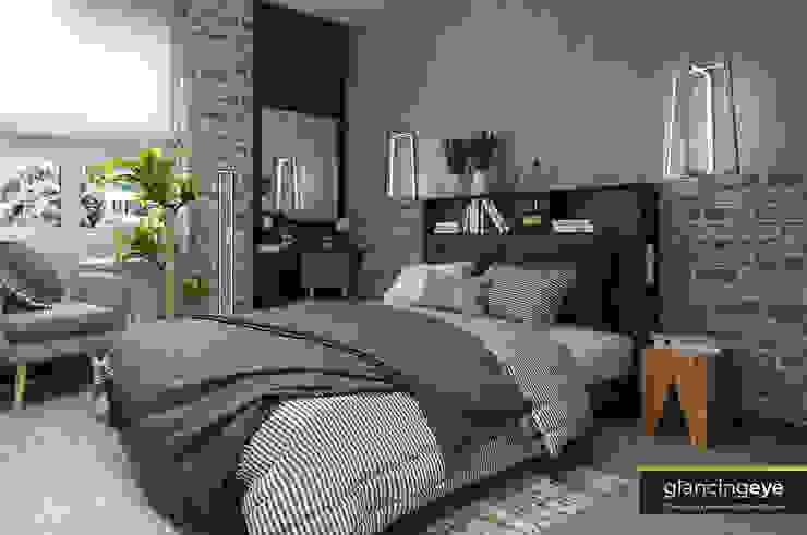 Diseño 3D Glancing EYE - Asesoramiento y decoración en diseños 3D Dormitorios de estilo moderno