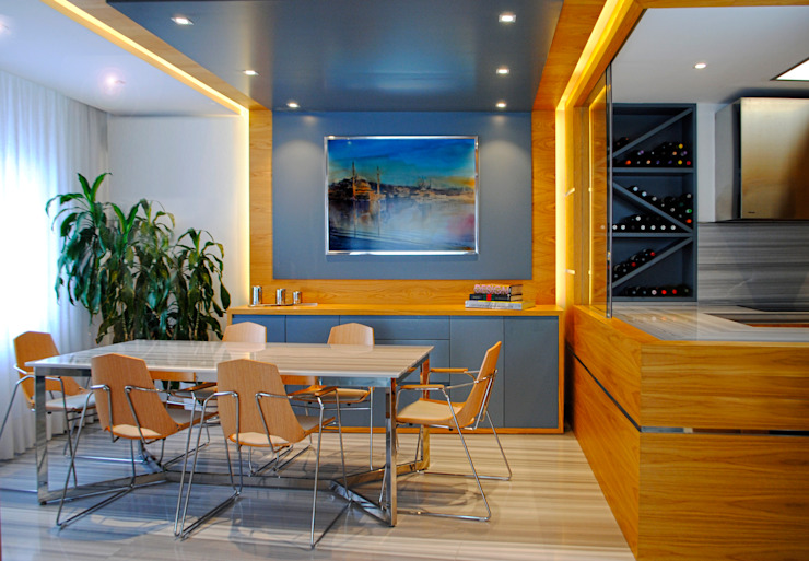 MANUEL TORRES DESIGN Eclectic style dining room