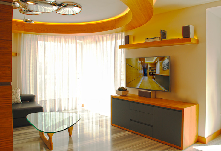 MANUEL TORRES DESIGN Living roomTV stands & cabinets Wood effect