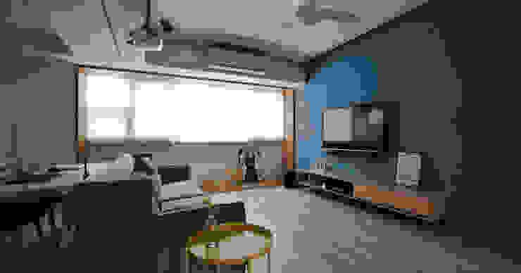 思樂冰的家 现代客厅設計點子、靈感 & 圖片 根據 八寶空間美學| BABODESIGN 現代風