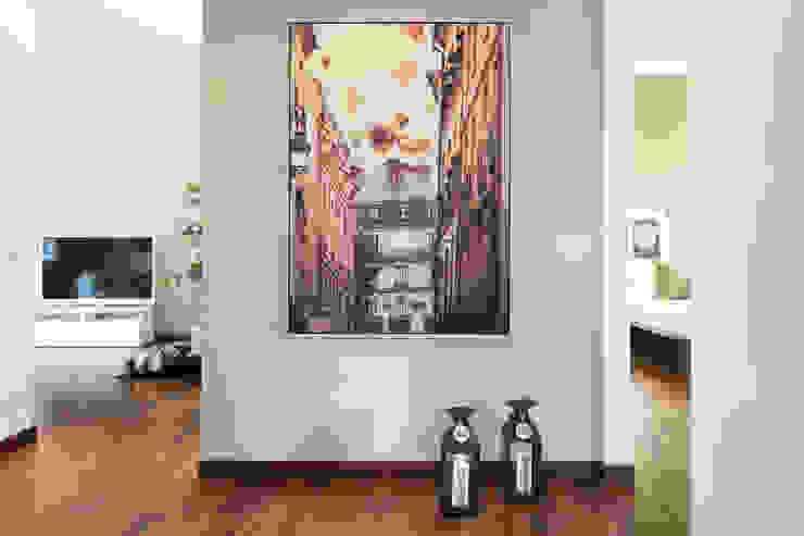 Zona ingresso Ingresso, Corridoio & Scale in stile moderno di LM PROGETTI Moderno