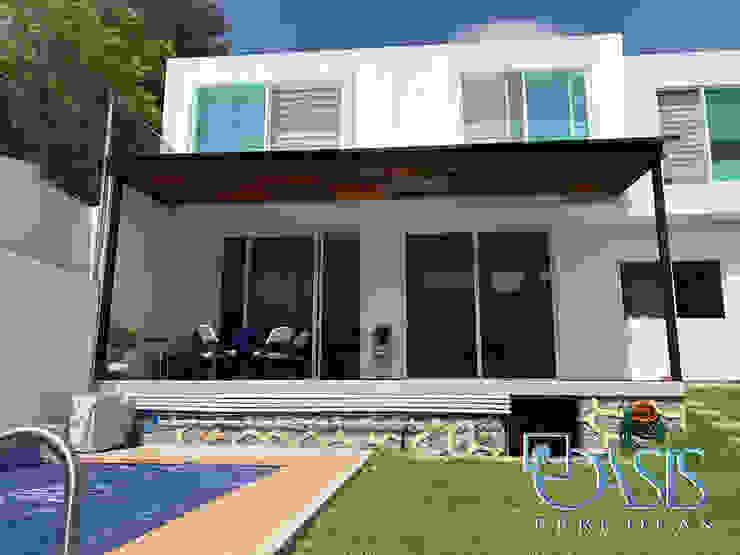Domo Híbrido para Terraza y Jardín Oasis Pérgolas Balcones y terrazas de estilo moderno