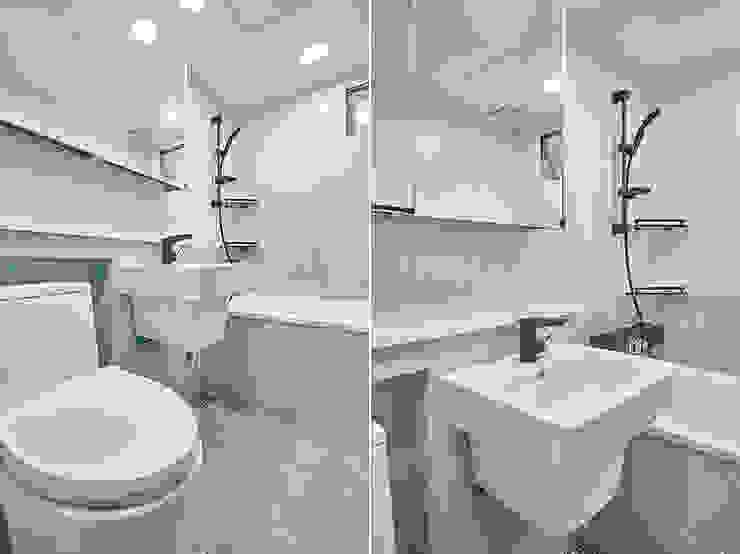 거실욕실 모던스타일 욕실 by 곤디자인 (GON Design) 모던