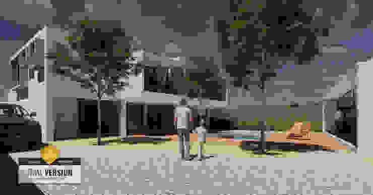 Arquitecto Rafael Balbi 房子 強化水泥 Grey