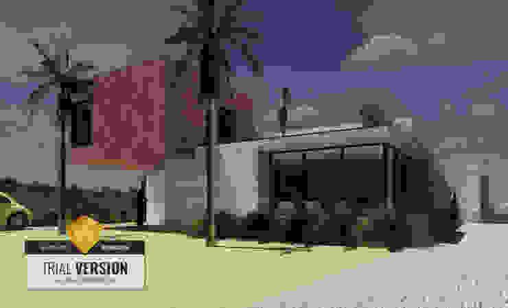 Arquitecto Rafael Balbi 獨棟房 強化水泥 Grey