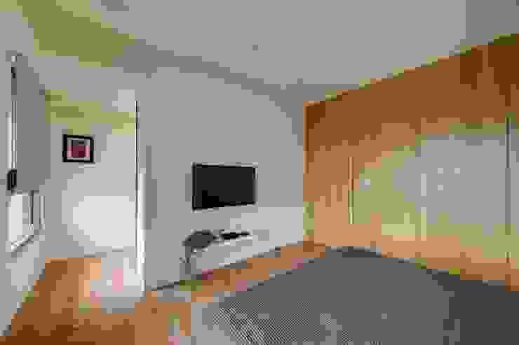 Dormitorios de estilo asiático de 微自然室內裝修設計有限公司 Asiático