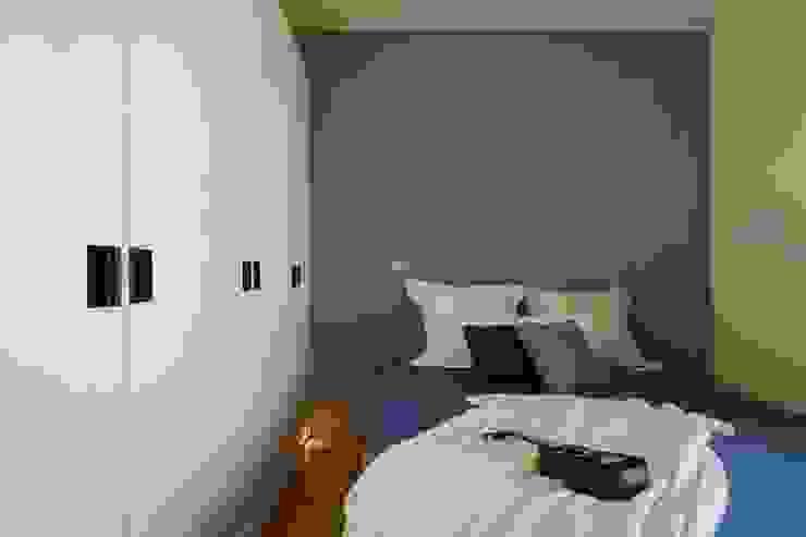 Dormitorios asiáticos de 微自然室內裝修設計有限公司 Asiático