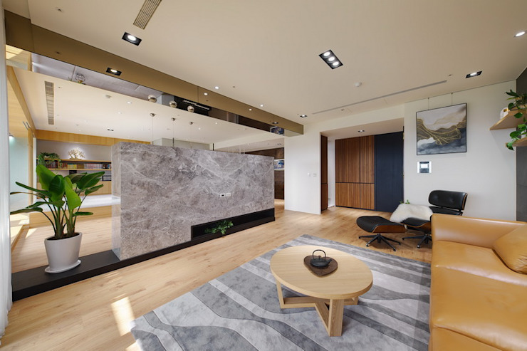 水岸青 根據 微自然室內裝修設計有限公司 日式風、東方風