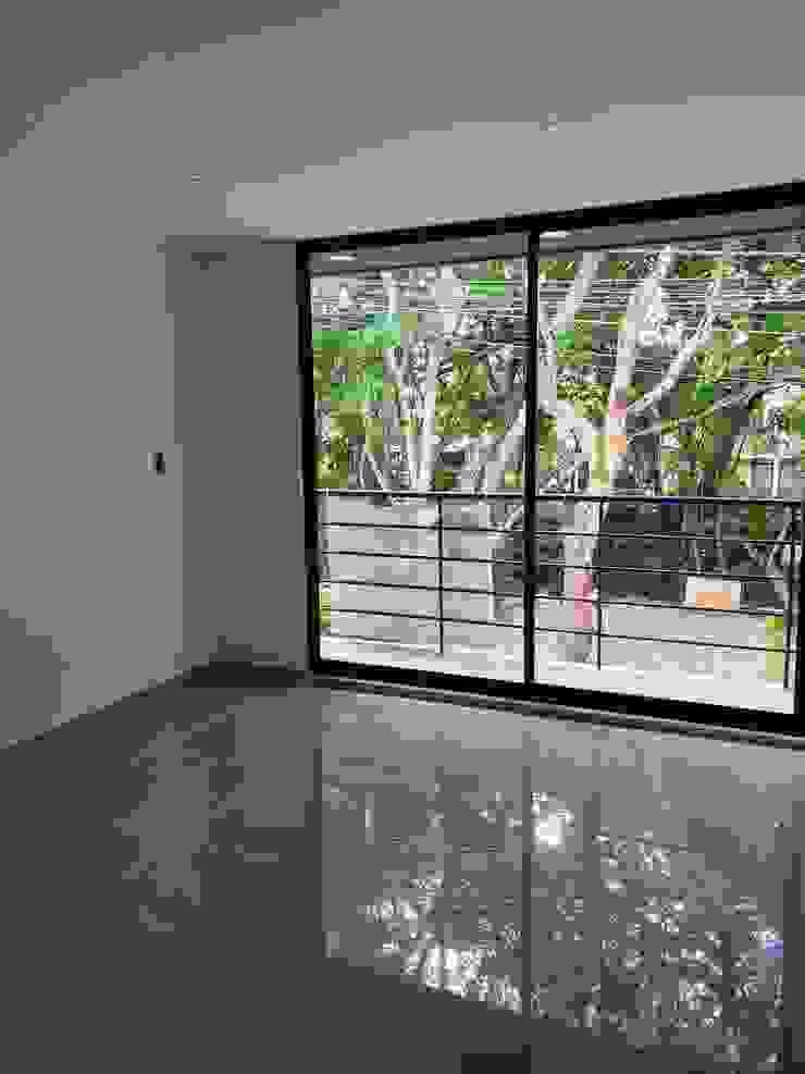 Habitación 2 Habitaciones modernas de Hausni Arquitectura Moderno