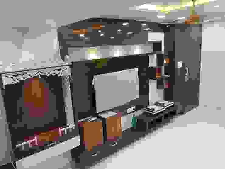 Livings de estilo moderno de Taathastu Space LLP Moderno