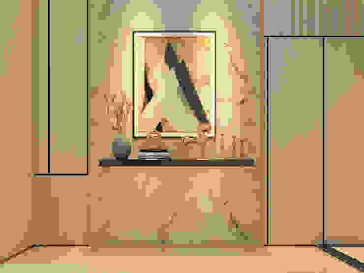 Mr Khor Bungalow, Setia Eco Park Modern corridor, hallway & stairs by Norm designhaus Modern