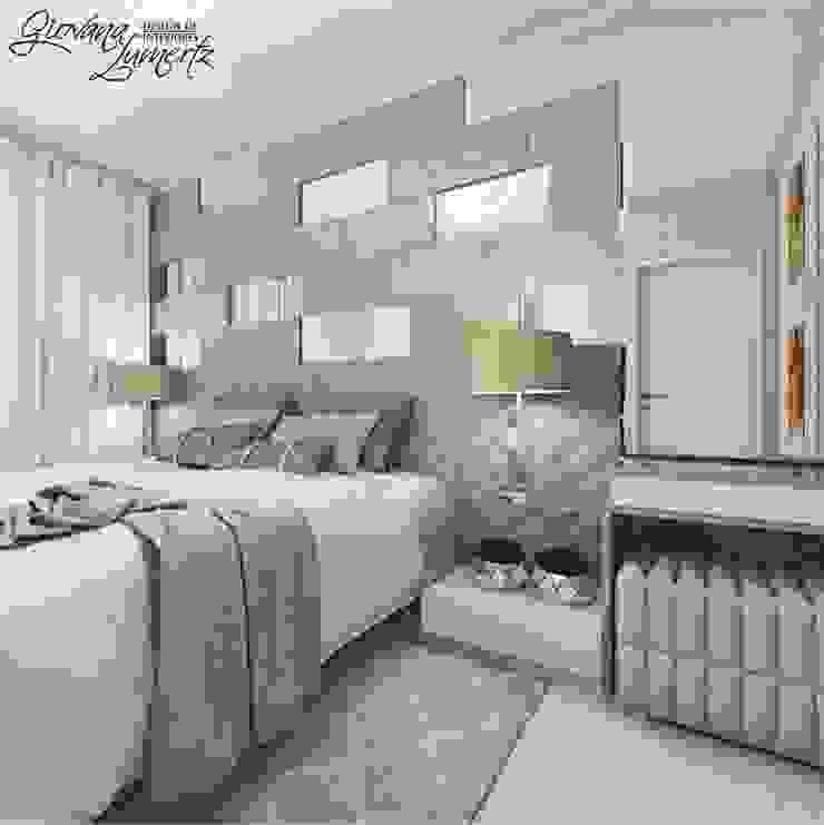 Classic style bedroom by Giovana Lumertz Classic MDF