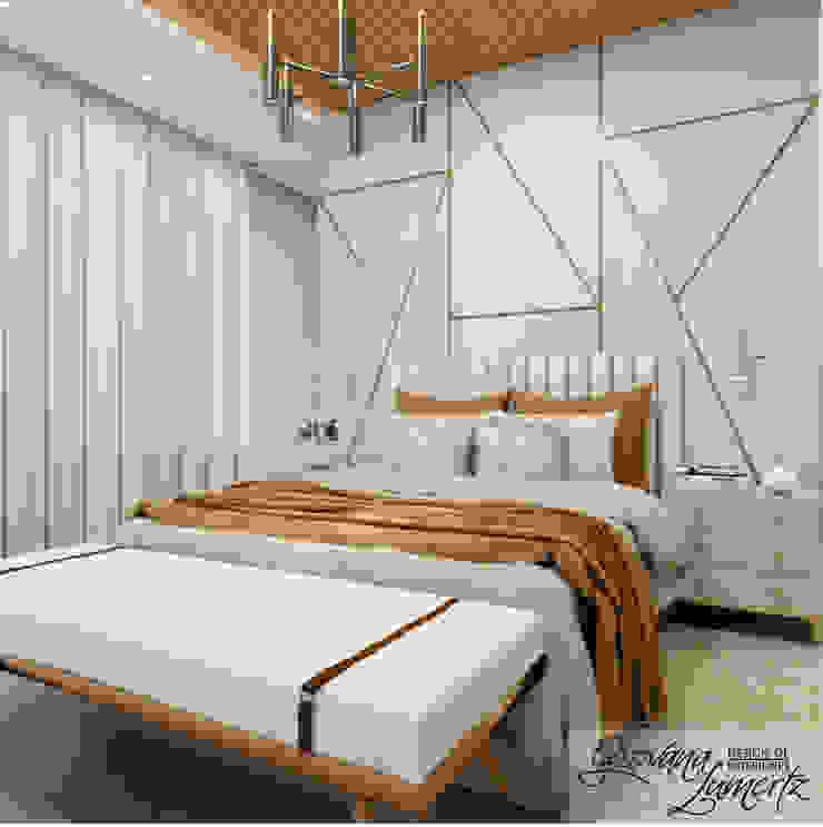 Rustic style bedroom by Giovana Lumertz Rustic MDF
