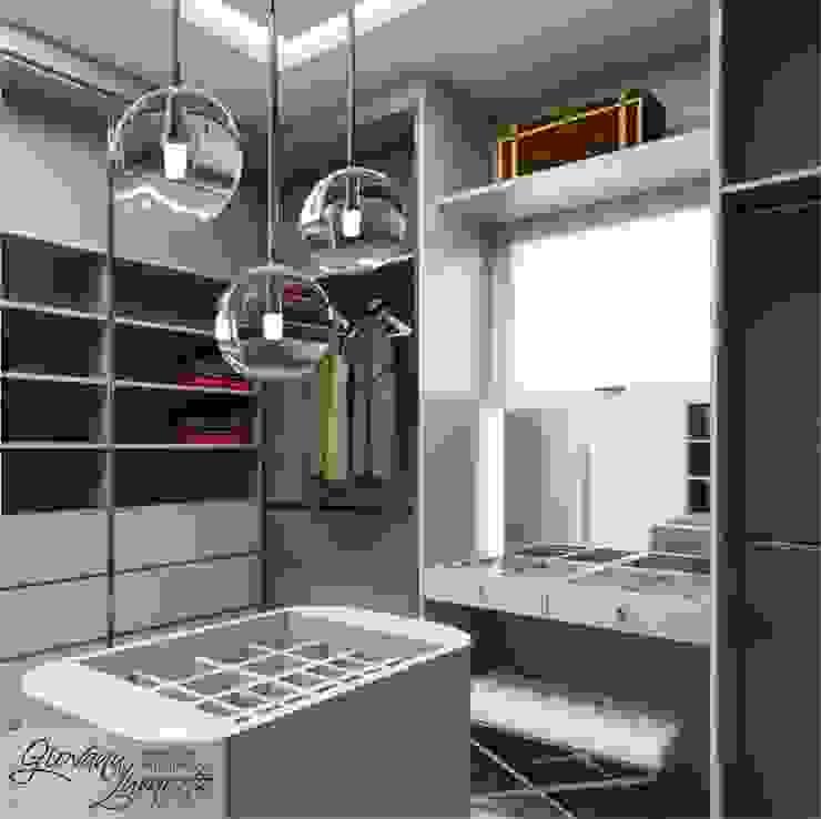 Modern dressing room by Giovana Lumertz Modern MDF