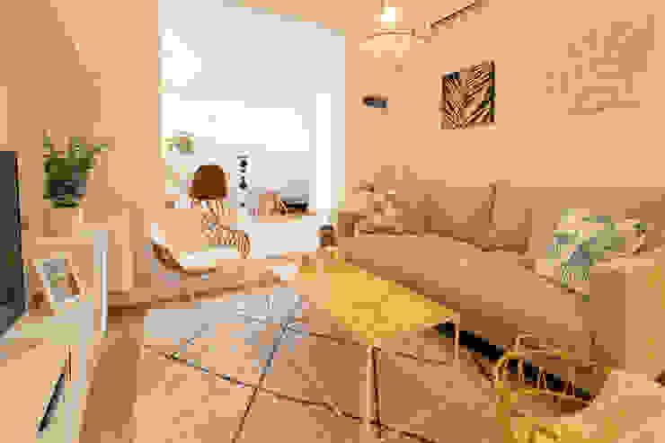 Decoración integral para uso particular Lala Decor HomeStaging & Reformas Integrales de pisos Salones de estilo escandinavo