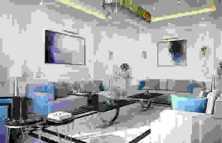 Luxury Neoclassical Palace Interior Design Livings de estilo clásico de Comelite Architecture, Structure and Interior Design Clásico