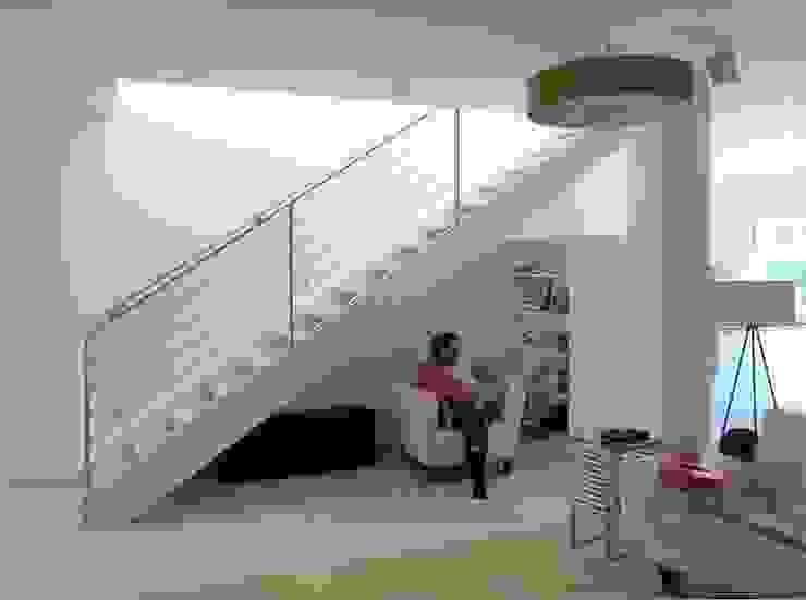 Wangen Treppe von archipur Architekten aus Wien Modern Holz Holznachbildung