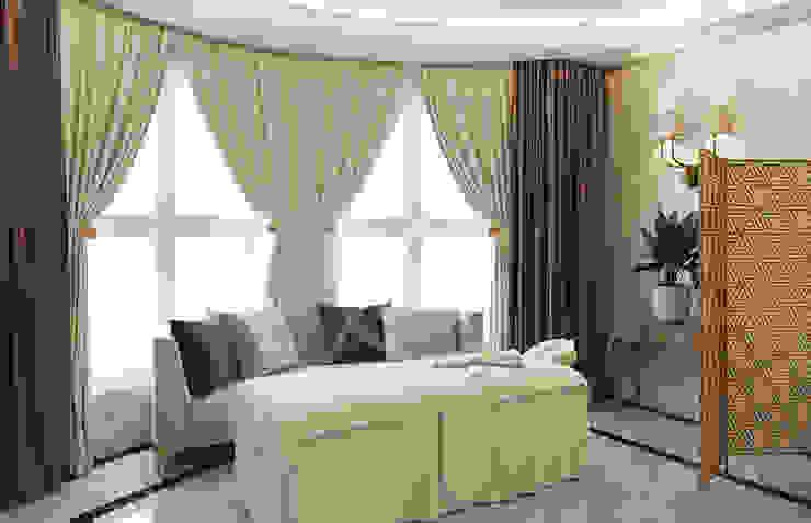 Luxury Neoclassical Palace Interior Design Oficinas y bibliotecas de estilo clásico de Comelite Architecture, Structure and Interior Design Clásico