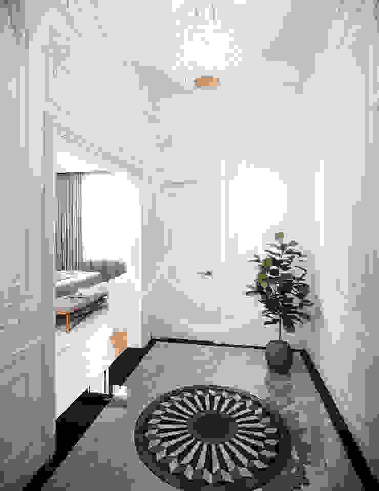 Luxury Neoclassical Palace Interior Design Pasillos, vestíbulos y escaleras clásicas de Comelite Architecture, Structure and Interior Design Clásico