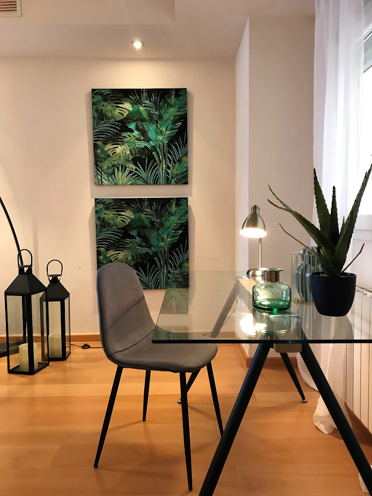 modern  by A interiorismo by Maria Andes , Modern