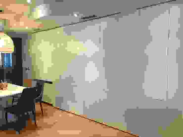 Panelado de Dm lacado de A interiorismo by Maria Andes Moderno